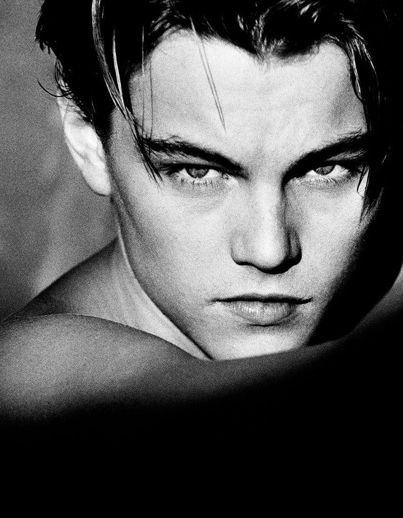 Greg Gorman Leonardo DiCaprio Los Angeles, 1994 © Greg Gorman courtesy IMMAGIS Galerie