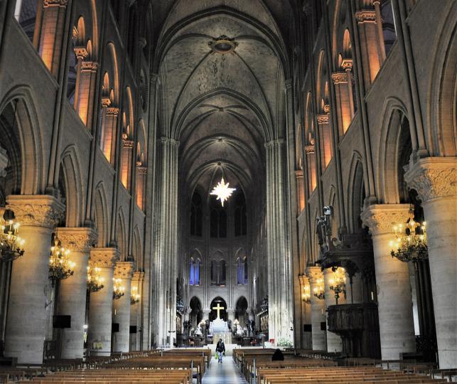 Notre-Dame de Paris – Interior