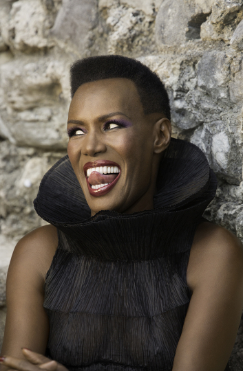 Grace Jones Jamaica, 2015 © Greg Gorman courtesy IMMAGIS Galerie