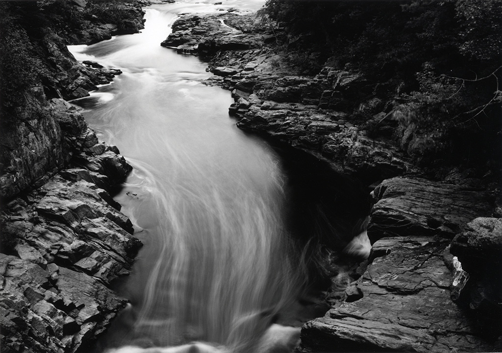 Along the Hudson River – Rockwell Falls, The Sacandaga River, Near the Hudson River Sacandaga County © Thomas Joshua Cooper - Courtesy The Parrish Art Museum
