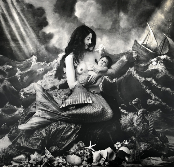 A Mermaid's Tale, 2018 © Joel-Peter Witkin – Courtesy Catherine Edelman Gallery