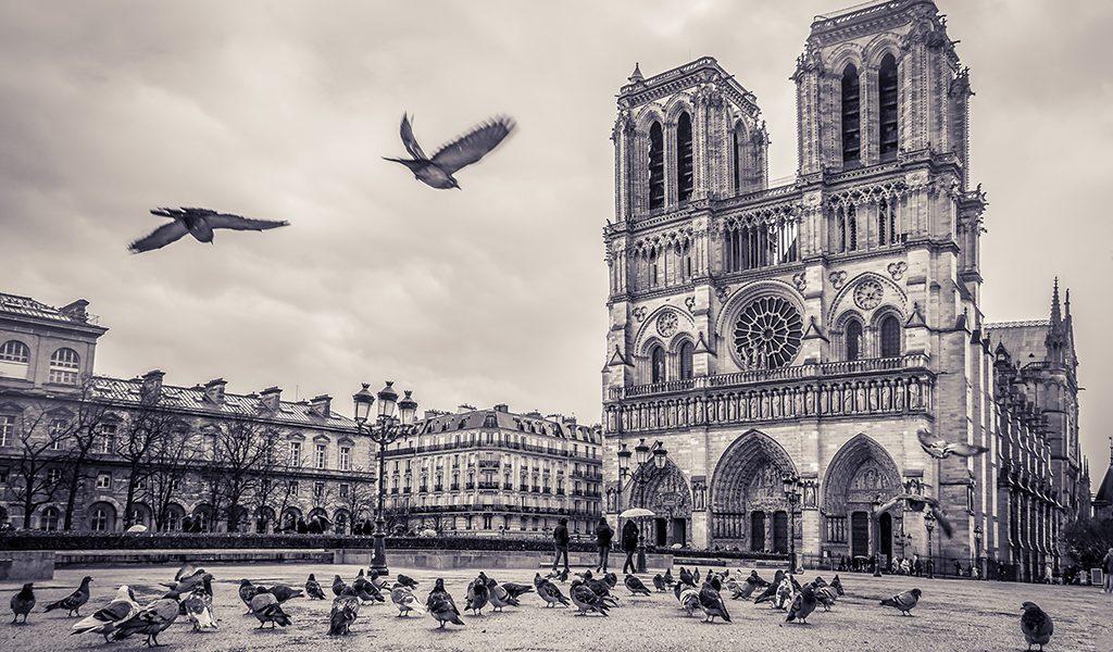 Notre-Dame de Paris – Black & White