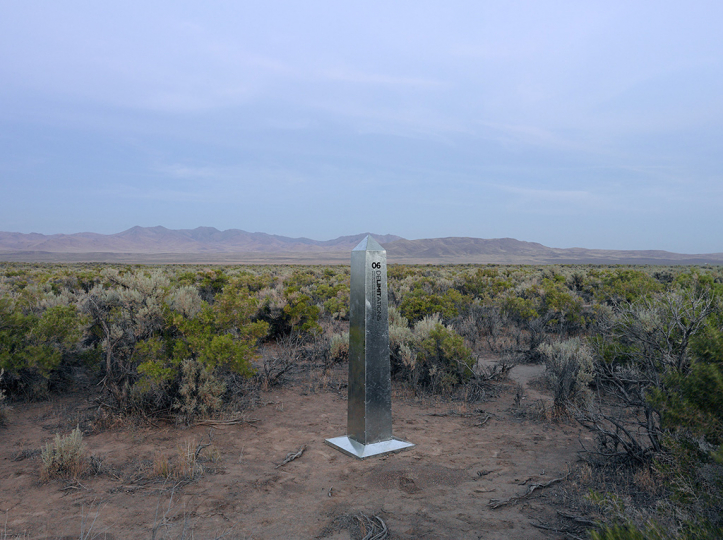 DeLIMITations Obelisk 06, 2014 © David Taylor and Marcos Ramírez – Courtesy Rick Wester Fine Art