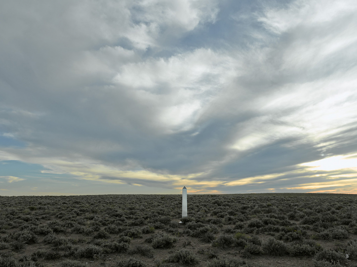 DeLIMITations Obelisk 12, 2014 © David Taylor and Marcos Ramírez – Courtesy Rick Wester Fine Art