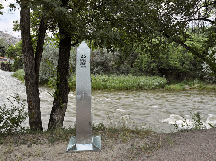 DeLIMITations Obelisk 25, 2014 © David Taylor and Marcos Ramírez – Courtesy Rick Wester Fine Art