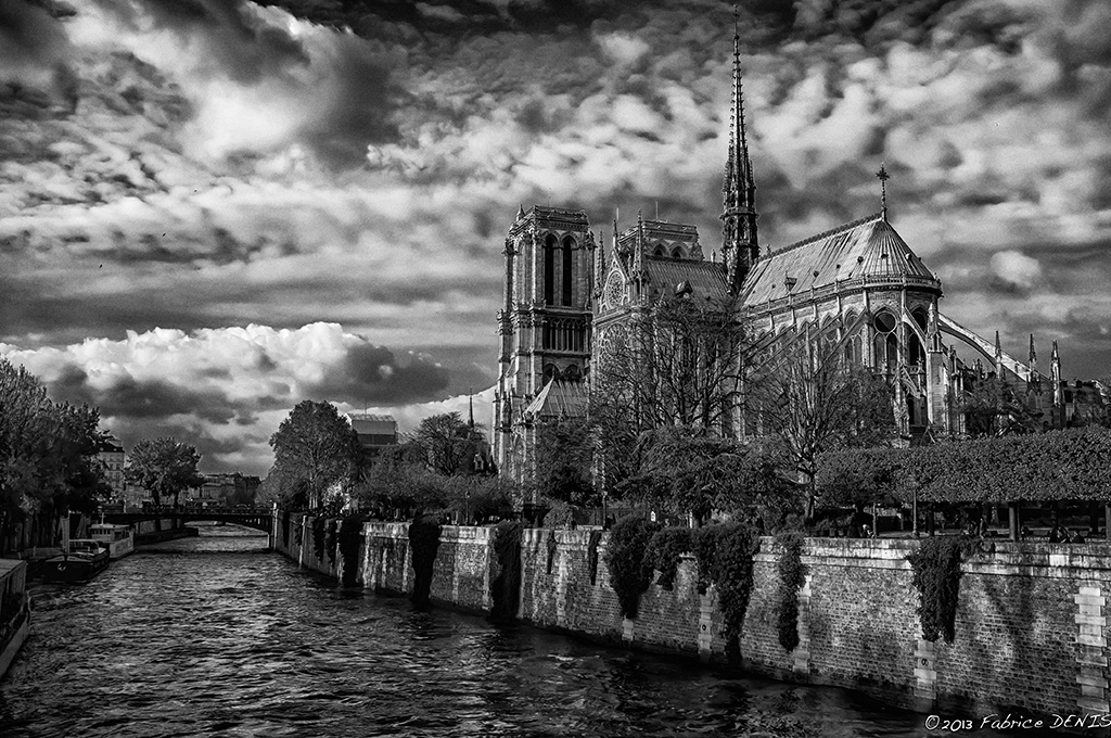 Notre Dame De Paris Black White The Eye Of Photography