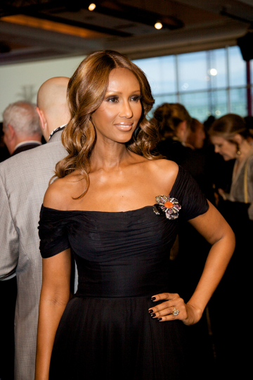 Iman at the at 2009 Infinity Awards. Courtesy International Center of Photography. Photo by Brandon Remler.