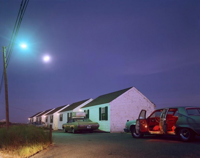 Joel Meyerowitz Red Interior, Provincetown, Massachusetts – Courtesy Equinox Gallery