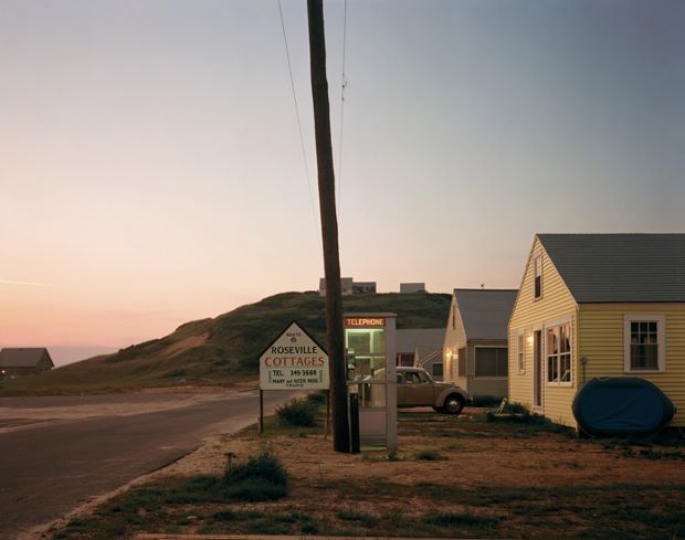 Joel Meyerowitz Roseville Cottages, Truro, Massachusetts – Courtesy Equinox Gallery