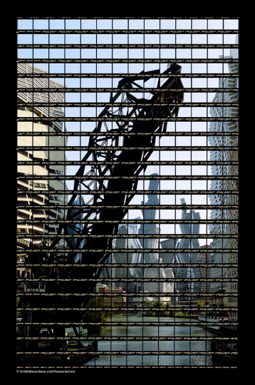 Thomas Kellner: Chicago, River View at Kinzie St, 2003, C-Print