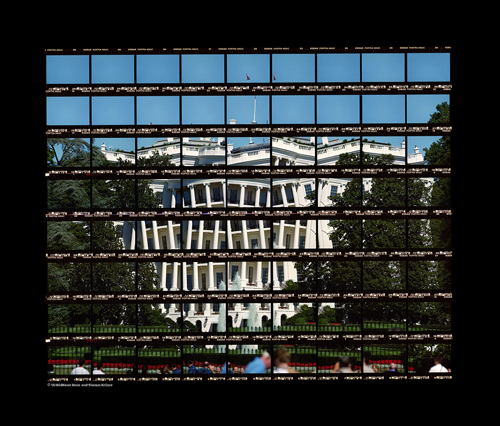 Thomas Kellner: Washington, The White House II, 2004, C-Print