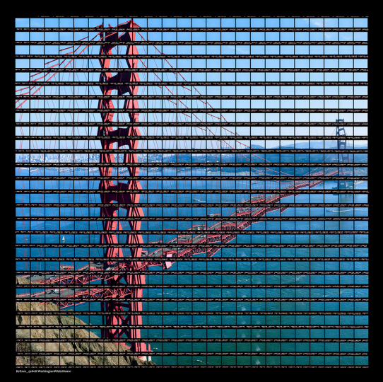 Thomas Kellner: San Francisco, Afternoon at Golden Gate Bridge, 2004, C-Print