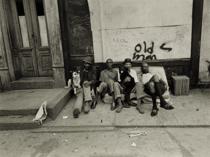 Lot 121: BRUCE DAVIDSON (1933- ) East 100th Street, N.Y. Estimate $3,000 - $4,500. - Courtesy Swann Auction Galleries