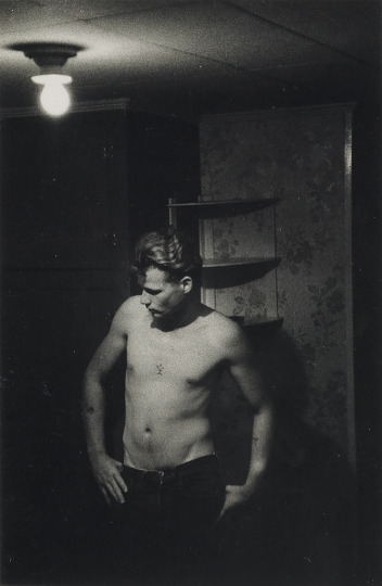 Lot 180: LARRY CLARK (1943- ) Untitled, from Tulsa. Estimate $5,000 - $7,500. - Courtesy Swann Auction Galleries