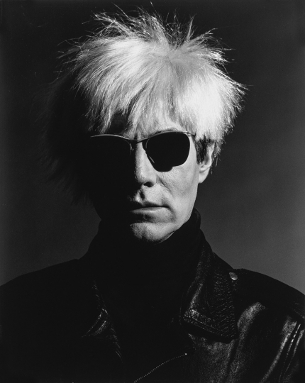 Lot 187: GREG GORMAN (1949- ) Andy Warhol, Los Angeles. Estimate $1,500 - $2,500. - Courtesy Swann Auction Galleries