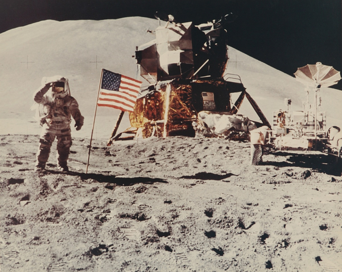 Nasa, the photographs of the Space Conquest