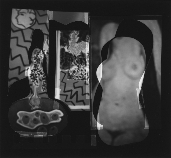Nude Composition #06, 1996, 4.25 x 3.5 in © Han Nguyen