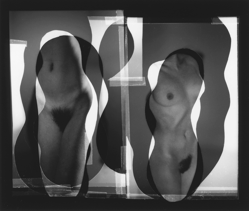 Nude Composition #08, 1996, 4 x 4.75 in © Han Nguyen
