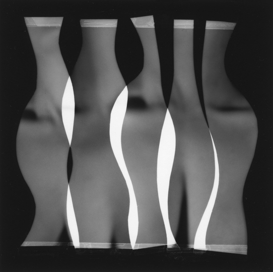 Nude Composition #11, 1996, 4.25 x 4.25 in © Han Nguyen