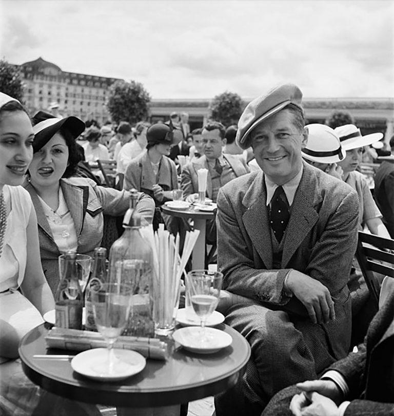 Roger Schall at Deauville fair