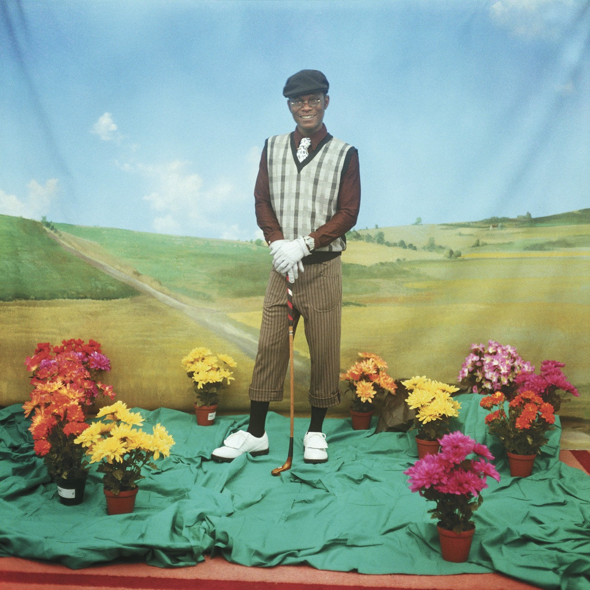 The Golfplayer 1997 © Samuel Fosso