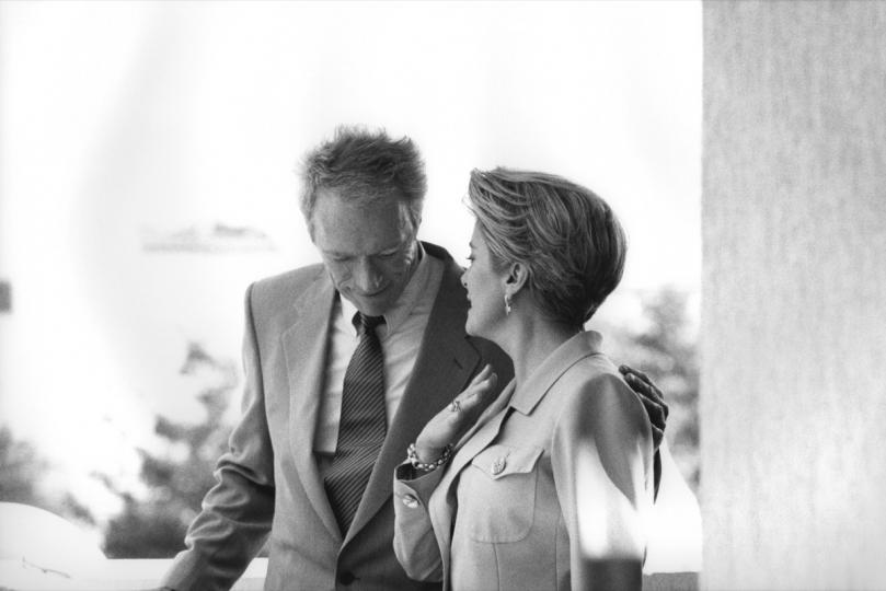 Stéphane Kossmann in Cannes, by Bernard Plossu