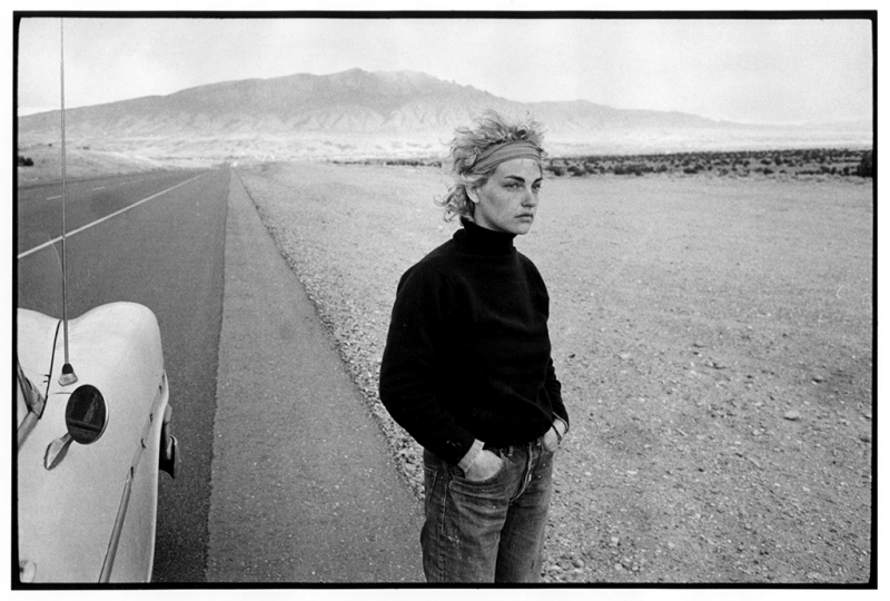 Stephanie, Sandoval County, New Mexico (Stephanie in the Desert), 1970 © Danny Lyon/Magnum Photos, courtesy Etherton Gallery, Tucson, AZ.
