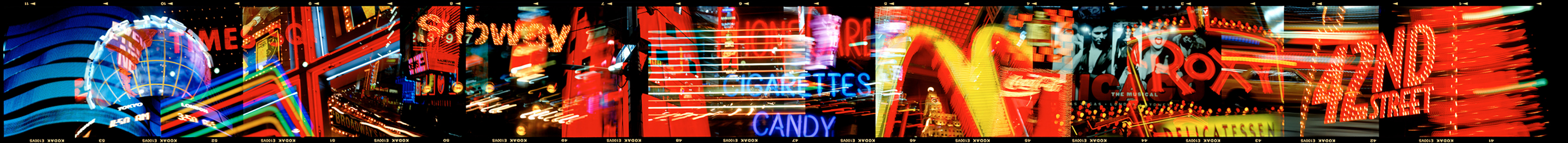 Neon Times Square 2000 © William Furniss