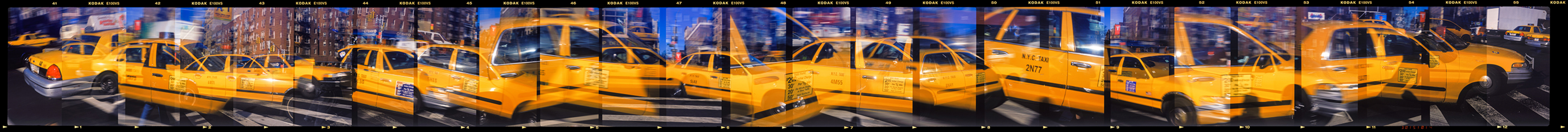 New York Taxi 1999 © William Furniss