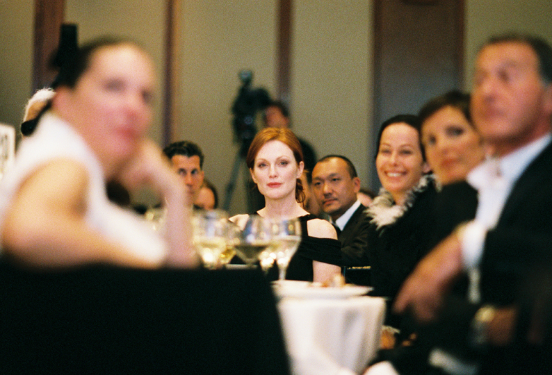 Julianne Moore at the 2007 Infinity Awards. Courtesy International Center of Photography. Photo by Jefferson Spady.