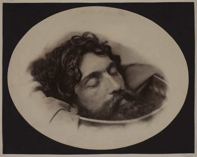 Oscar Gustaf Rejlander British, born Sweden, 1813–1875 Head of St. John the Baptist in a Charger, about 1860 Albumen silver print Image: 14.1 x 17.8 cm (5 9/16 x 7 in.) George Eastman Museum, purchase Photo: Courtesy of the George Eastman Museum