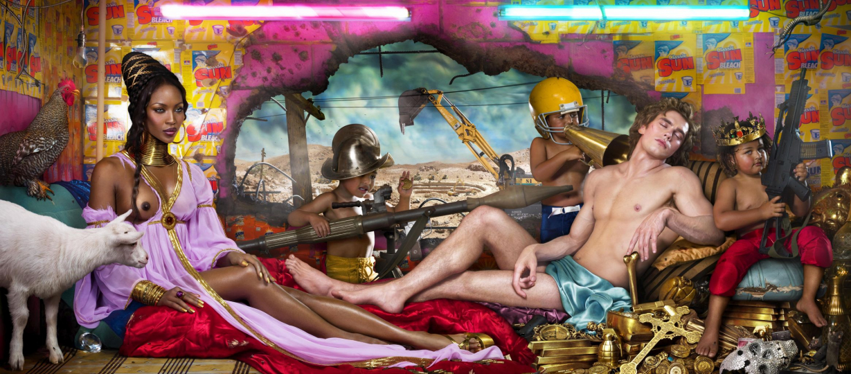 Rape of Africa, Los Angeles 2009, 2009 ©David LaChapelle; Chromogenic Print; 132,08 x 304,8