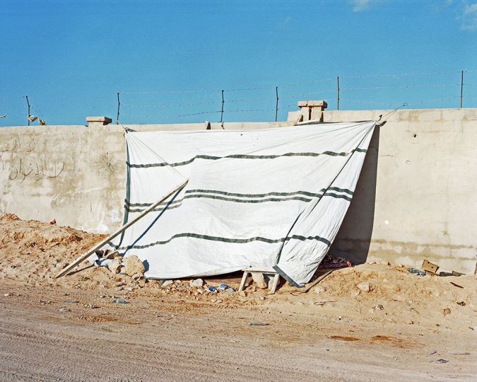 Offensive day, war against the organisation called Islamic State in Sirte, Libya (2016) © Samuel Gratacap [Courtesy galerie Les filles du calvaire, Paris]