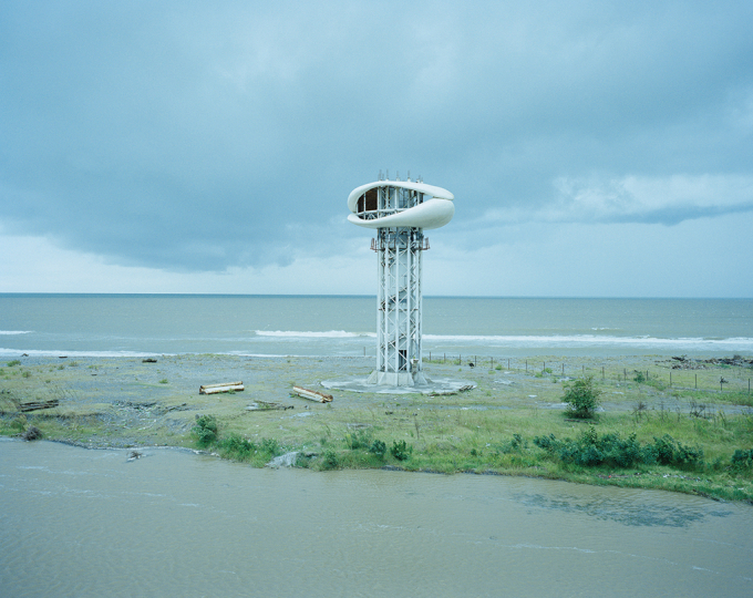 Sputnik Photo Collective, Anaklia, Georgia, An unfinished viewing tower. 2013. Courtesy of artists.