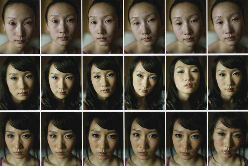 Xu Yong, This Face, 2011. © The artist. Courtesy the artist and The Walther Collection.