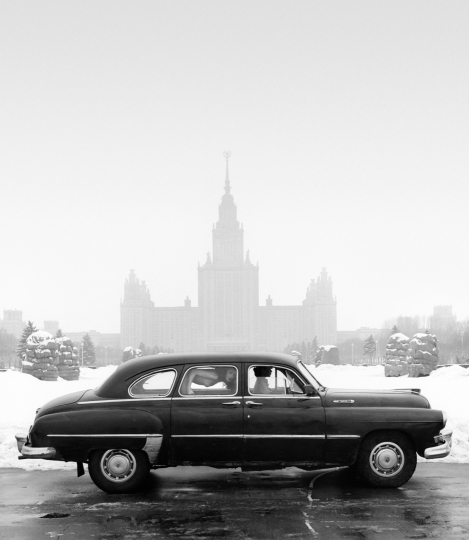 Zil at Moscow University, USSR, 1989 © Patrick Lichfield / Unipart