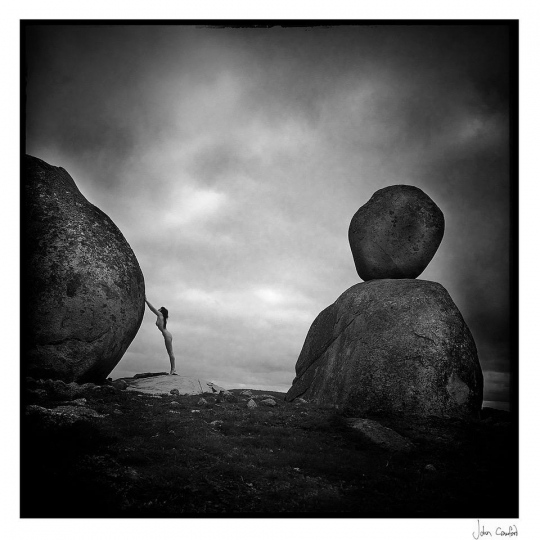 John Crawford, Ash with Rocks, 1/5. Courtesy The Perfect Exposure Gallery