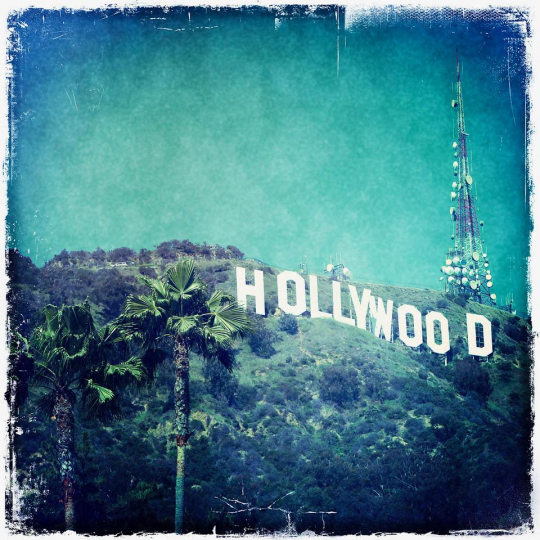 Nina Prommer, Hollywood Sign. Courtesy The Perfect Exposure Gallery