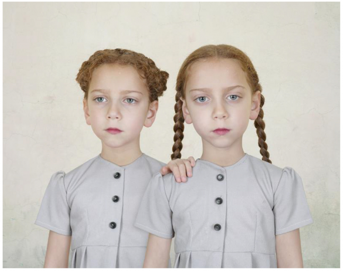 Loretta Lux, Sasha and Ruby 1, 2008, Image courtesy the artist and TORCH gallery