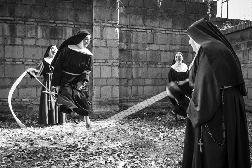 June 2007. The cloistered life of the Poor Clares of the monastery of Santa Chiara in Rome, Italy. © Fabrizio Villa
