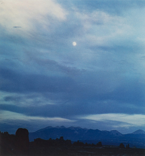Eliot Porter (1901 - 1990) Untitled (Clouds, New Mexico), 1958 Vintage dye-transfer print Image: 8 1/2 x 8