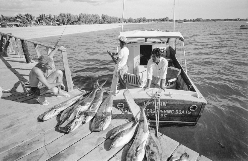 Marlin Fishing in Mexico, 1962. An homage to Ernest Hemingway. © Fred Baldwin