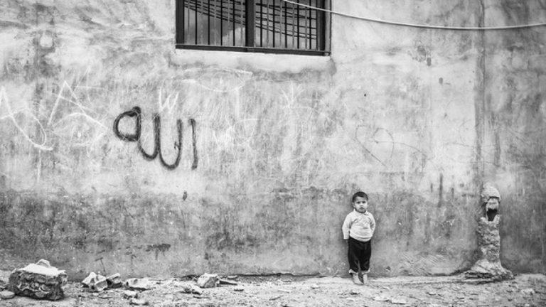 Alain Licari - Au jour le jour, Vie quotidienne dans un camp de réfugiés Syriens