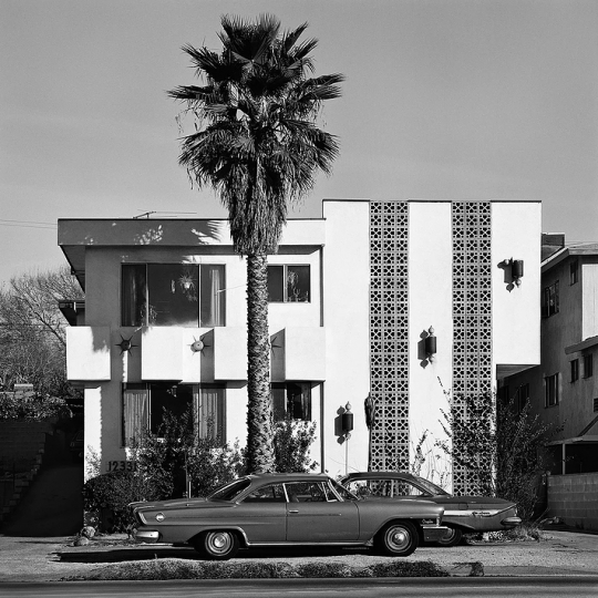 Apartment and Palm, 1975 © Roger Minick – Courtesy Joseph Bellows Gallery