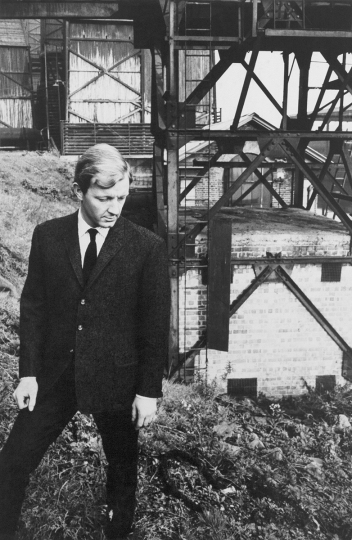 Tim Davies at Grove Road Power Station in London, 31 October 1960. From