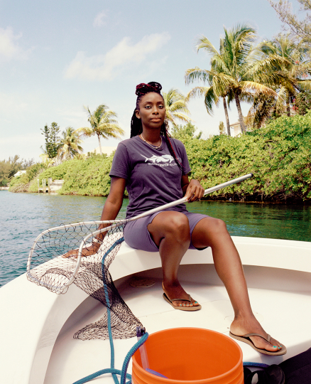 Rashema Ingraham - Bahamas - photo by Peyton Fulford for Culture Trip - Courtesy Waterkeeper Alliance and Culture Trip