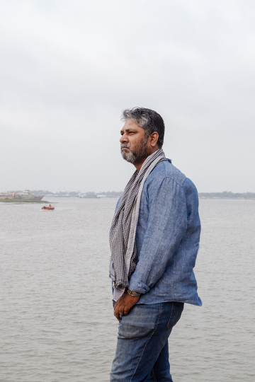 Waterkeeper Warriors - Sharif Jamil - Bangladesh -Photo by Farhad Rahman for Culture Trip - Courtesy Waterkeeper Alliance and Culture Trip