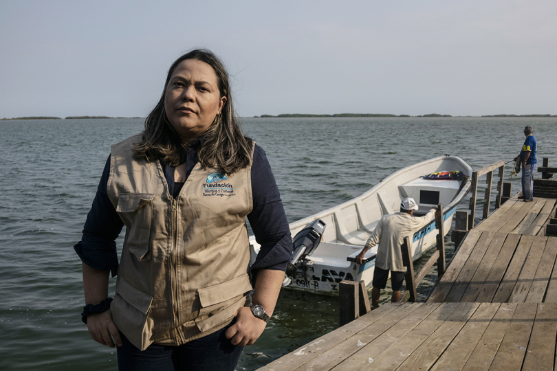 Waterkeeper Warriors - Liliana Guerrero - Colombia - Photo by Stephen Ferry for Culture Trip - Courtesy Waterkeeper Alliance and Culture Trip