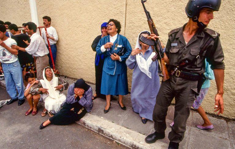 L'Algérie en guerre de Michael von Graffenried