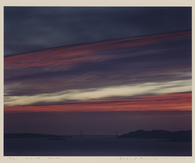 10.31.98, 5:22 PM; Richard Misrach (American, born 1949); San Francisco, California, United States; negative 1998; print 1999; Chromogenic print; 46.3 × 58.9 cm (18 1/4 × 23 3/16 in.); 2016.184.5 © Richard Misrach, courtesy Fraenkel Gallery, San Francisco, Pace/ MacGill Gallery, New York and Marc Selwyn Fine Art, Los Angeles Courtesy The J. Paul Getty Museum, Los Angeles, Gift of Daniel Greenberg and Susan Steinhauser